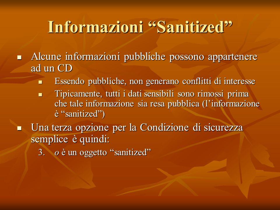 Informazioni Sanitized