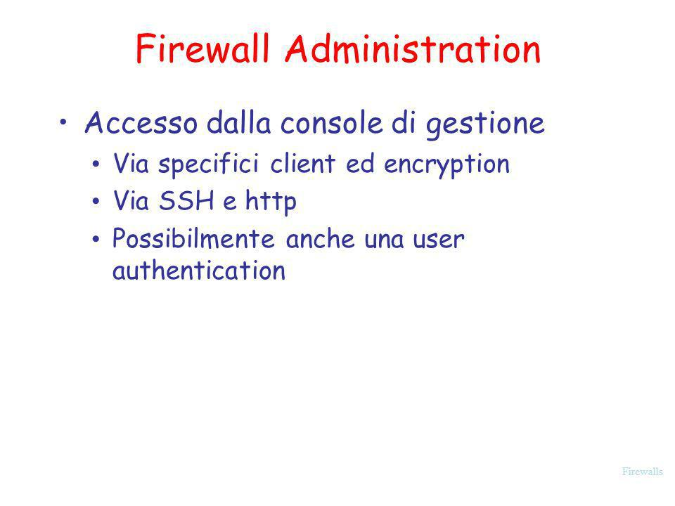 Firewall Administration