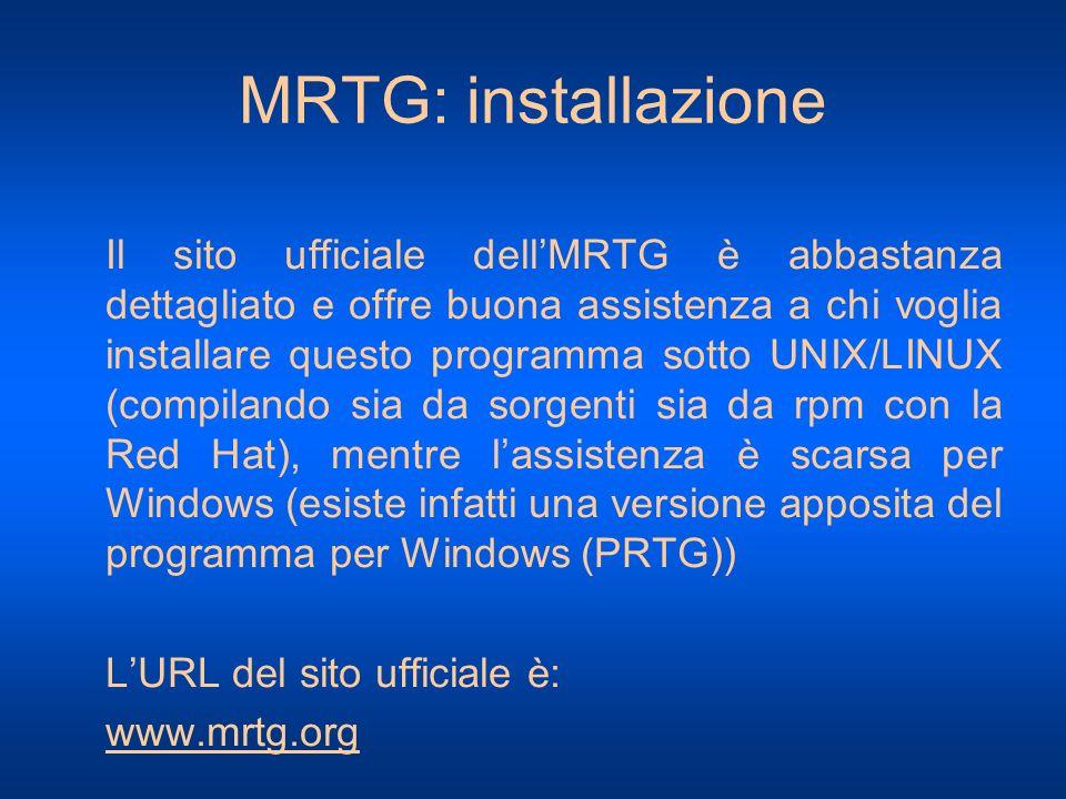 MRTG: installazione