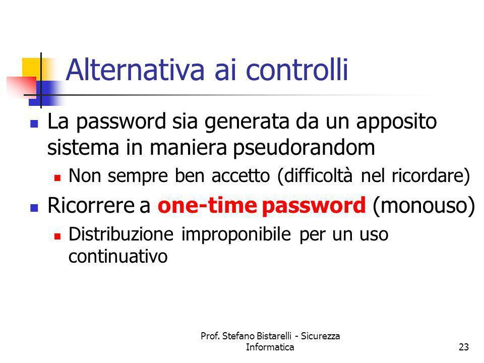 Alternativa ai controlli