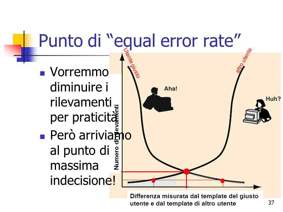 Punto di equal error rate