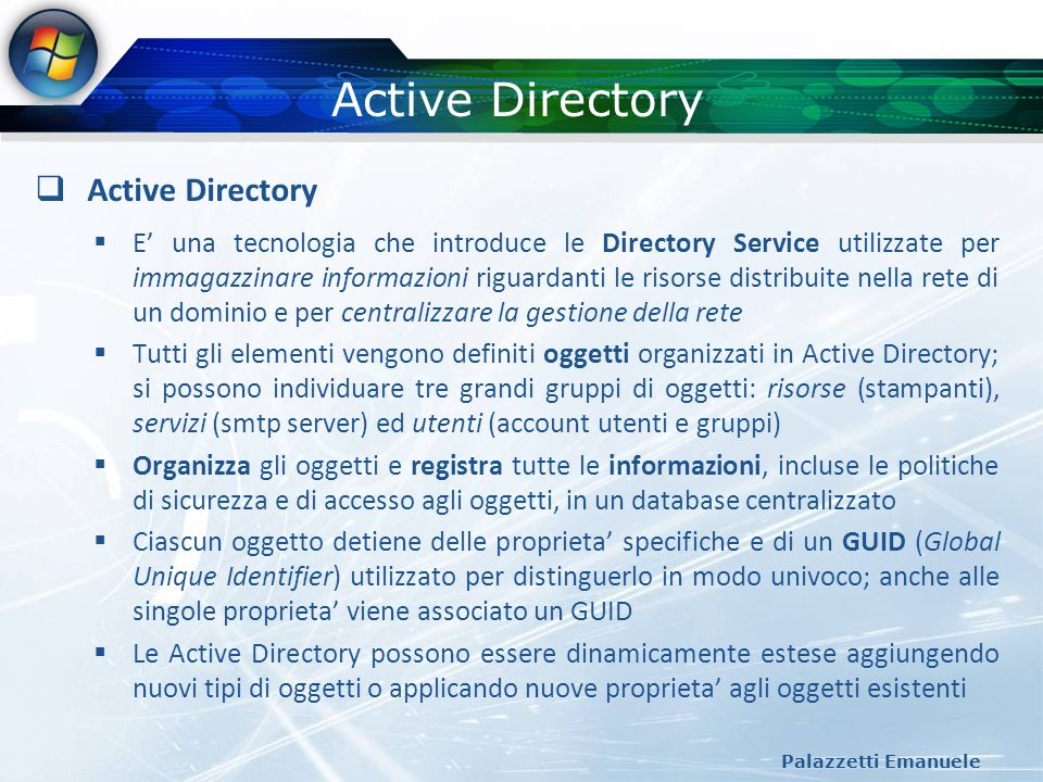 Active Directory Active Directory