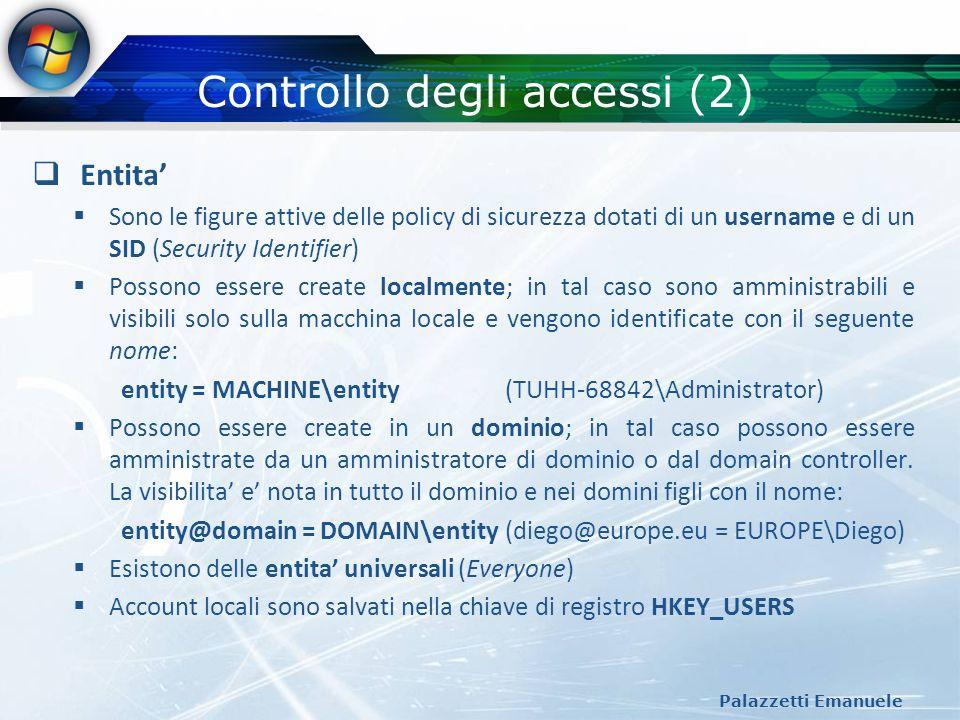 Controllo degli accessi (2)