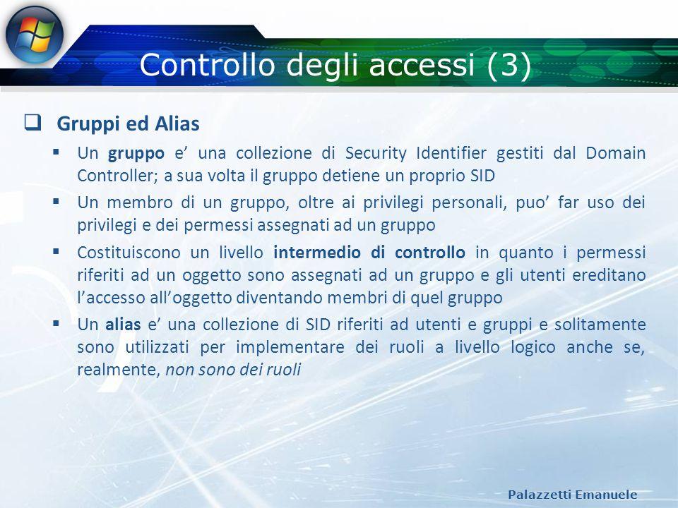 Controllo degli accessi (3)