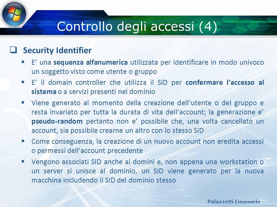 Controllo degli accessi (4)