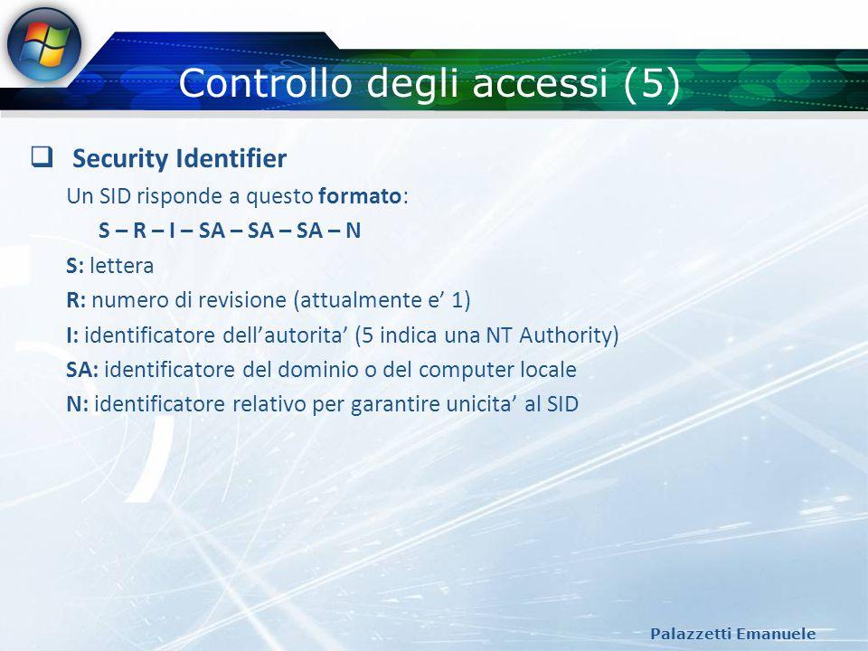 Controllo degli accessi (5)