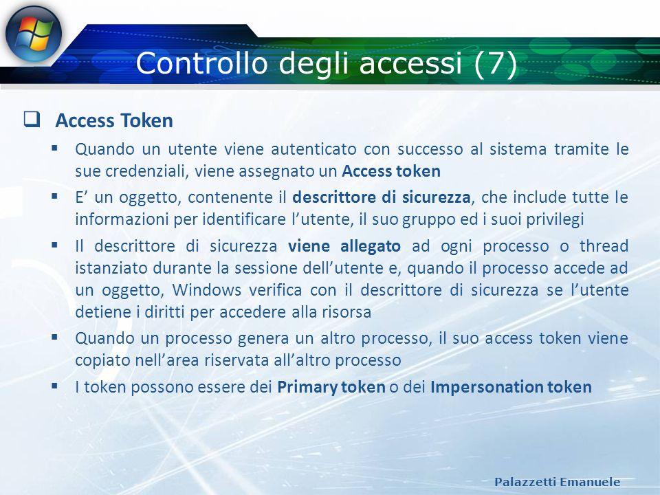 Controllo degli accessi (7)