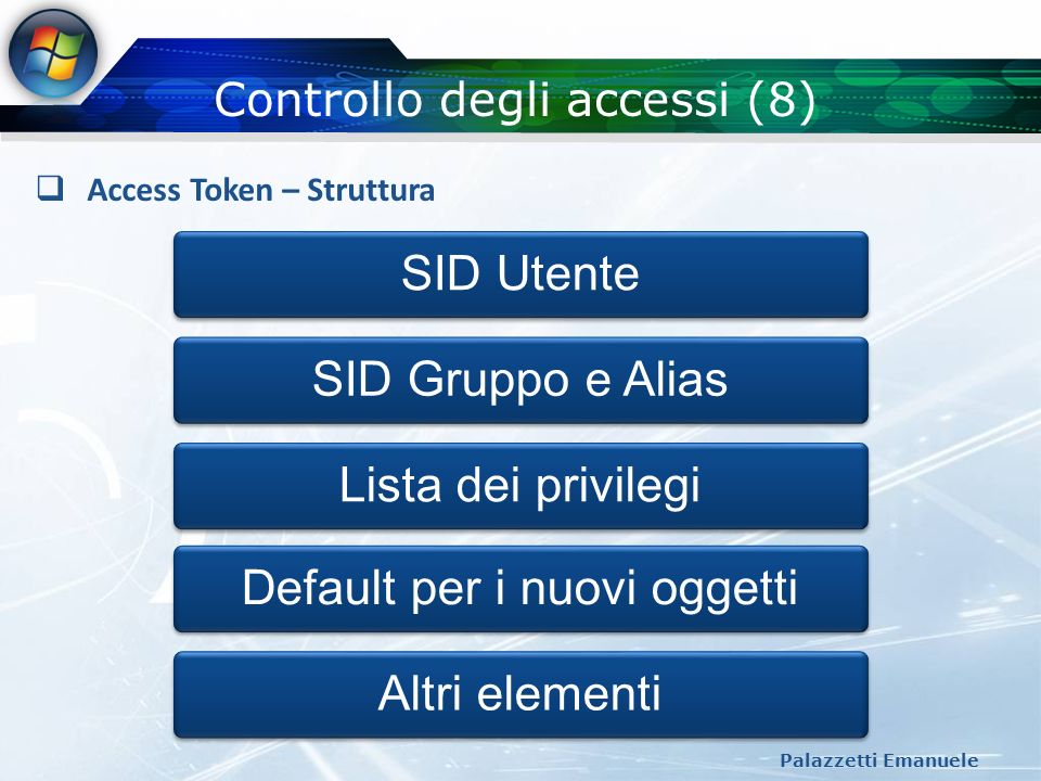 Controllo degli accessi (8)