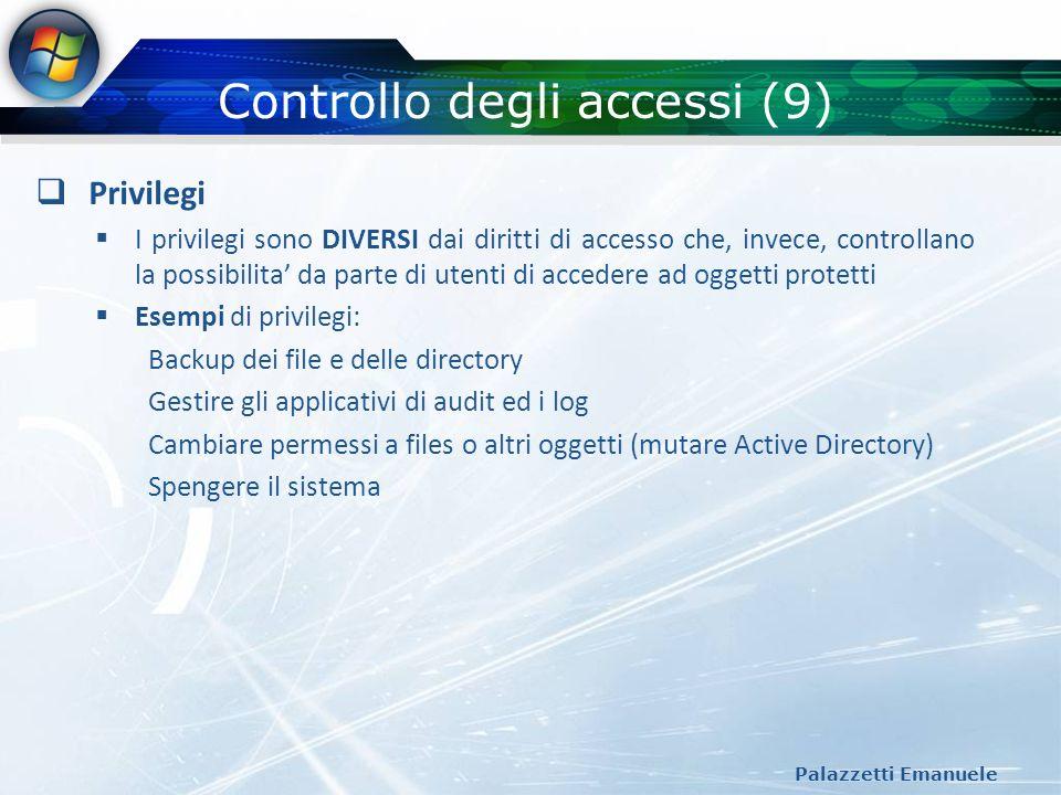 Controllo degli accessi (9)