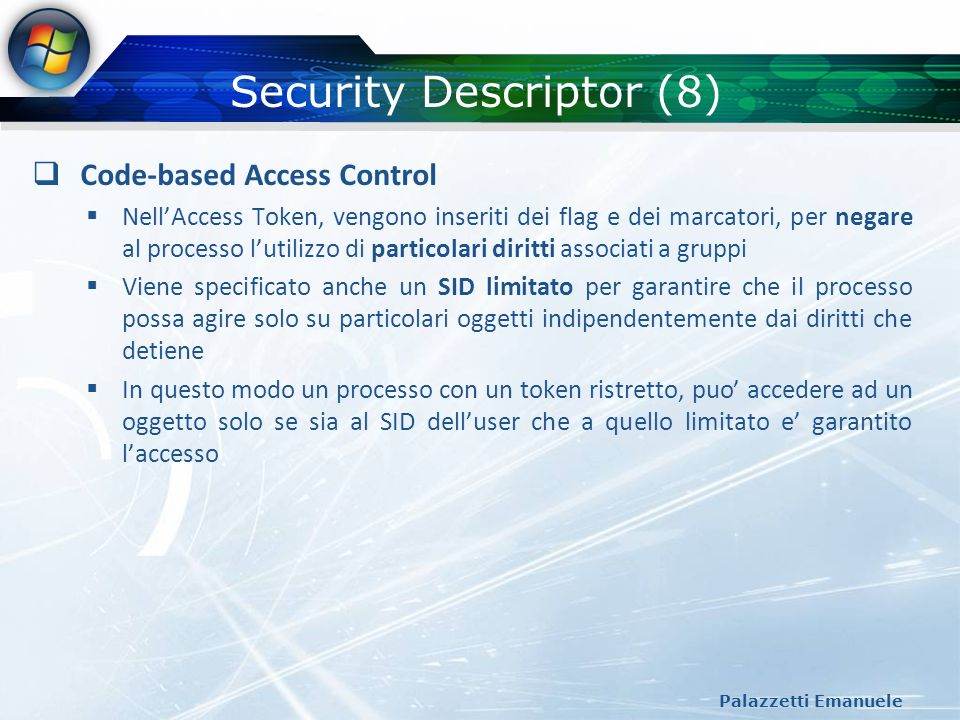 Security Descriptor (8)