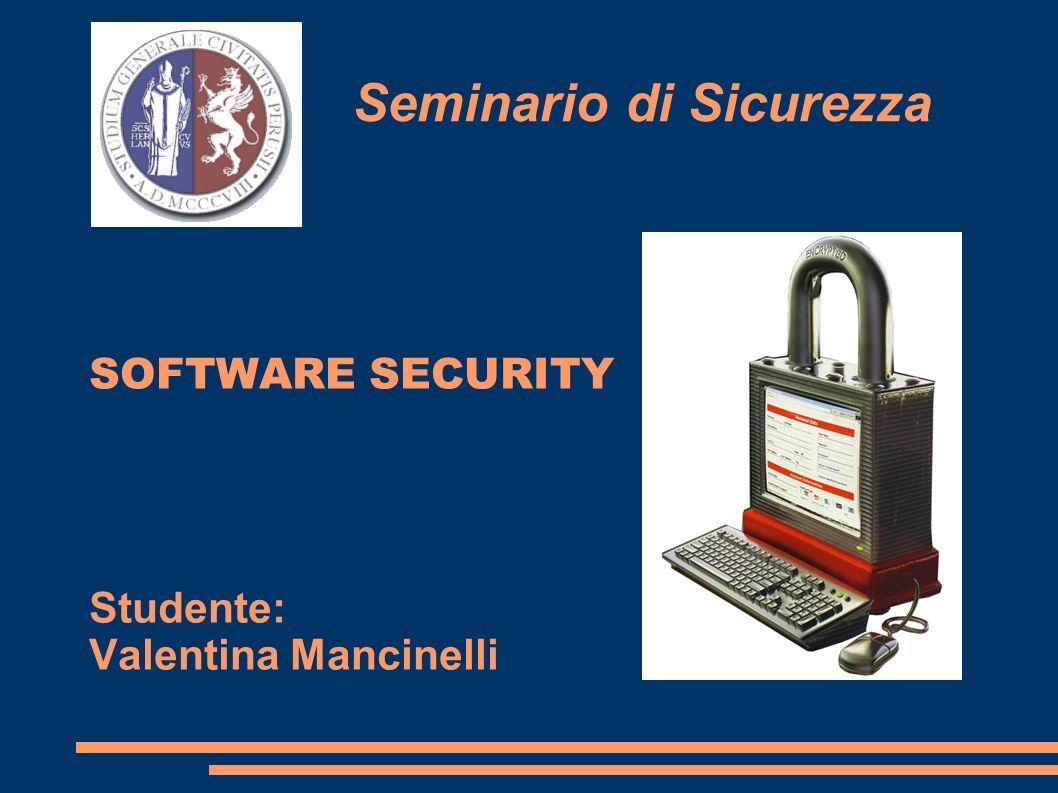 Seminario di Sicurezza