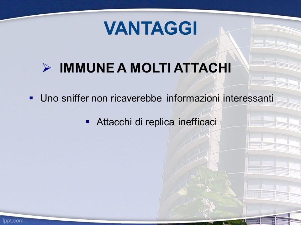 VANTAGGI IMMUNE A MOLTI ATTACHI