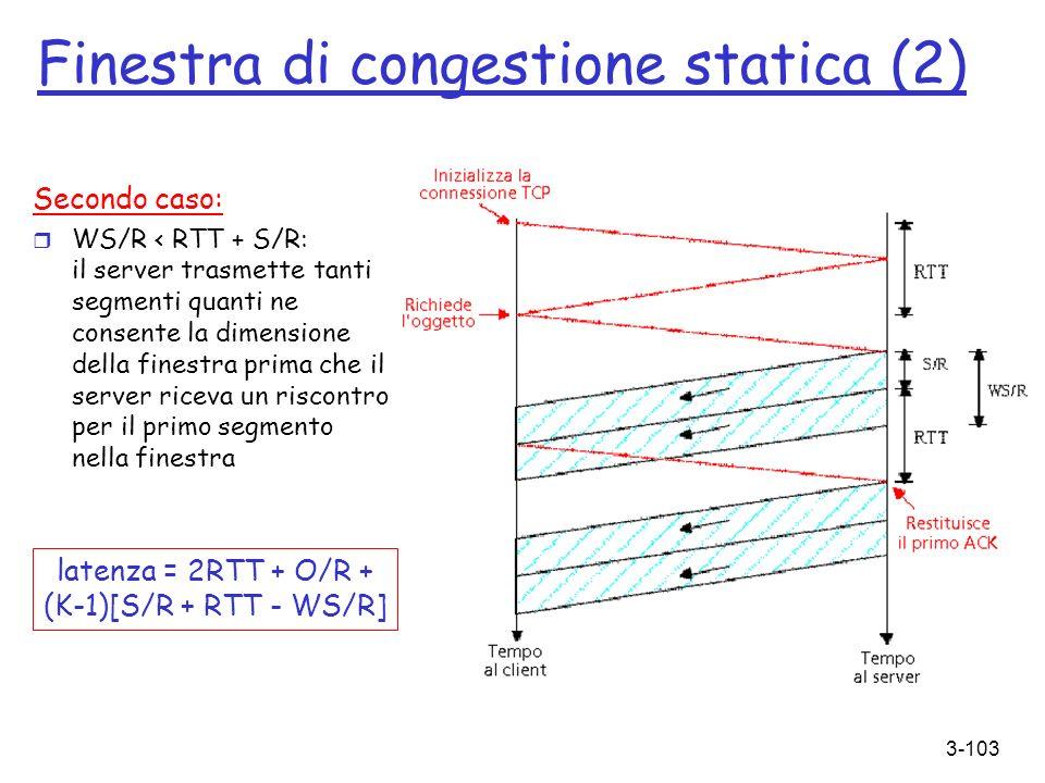 Finestra di congestione statica (2)