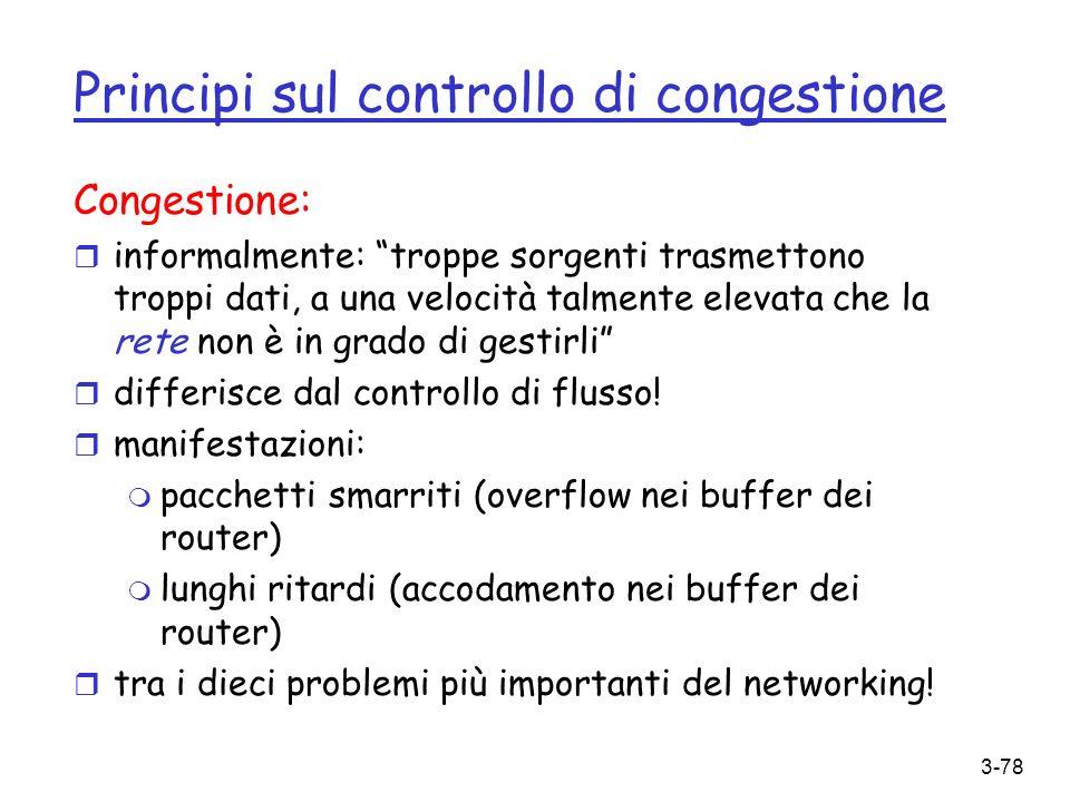 Principi sul controllo di congestione