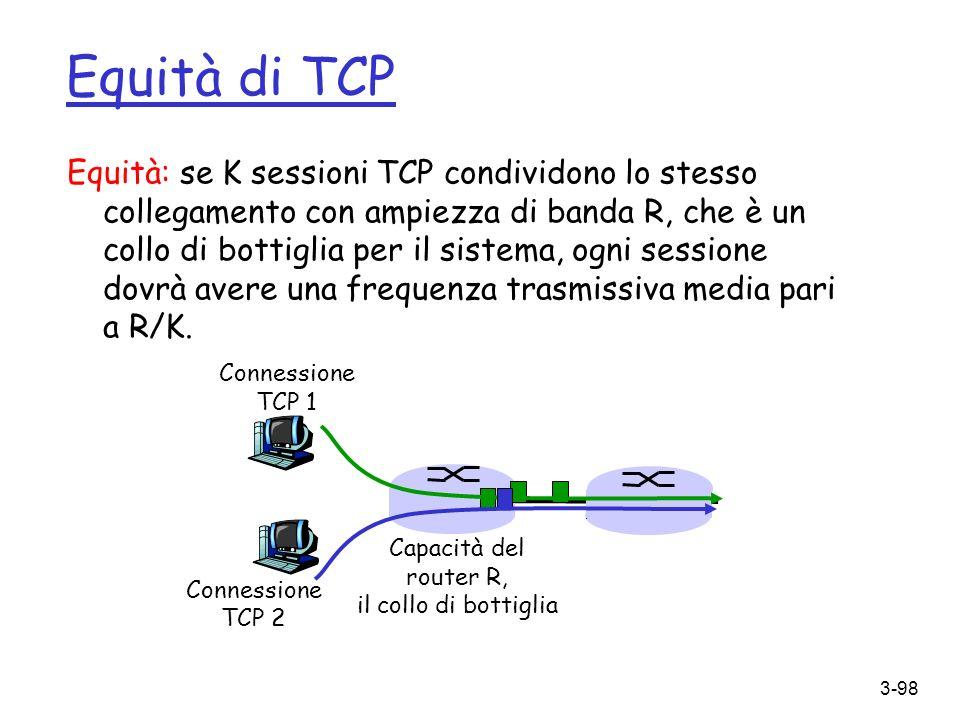 Equità di TCP