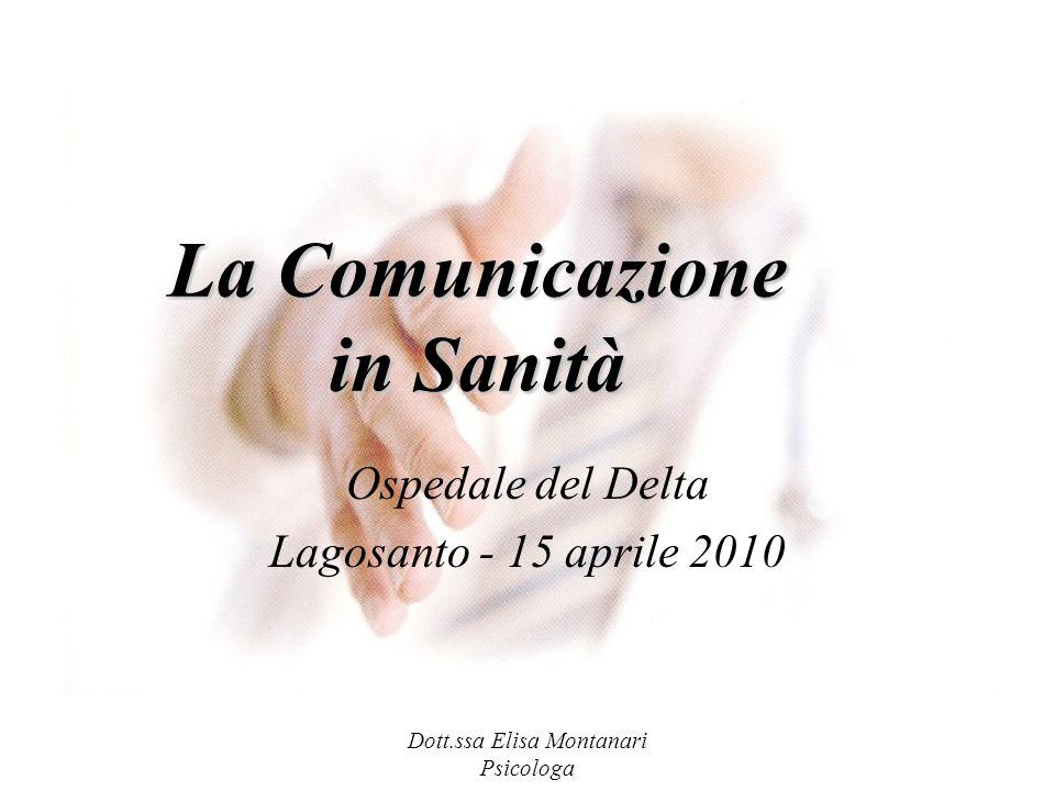 La Comunicazione in Sanità