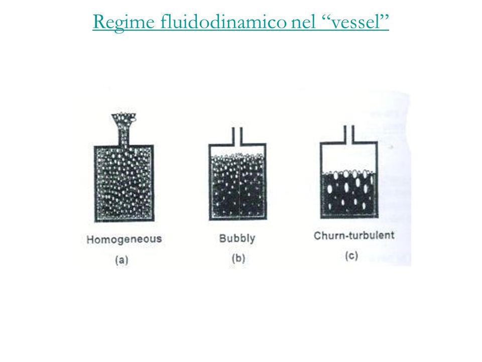 Regime fluidodinamico nel vessel