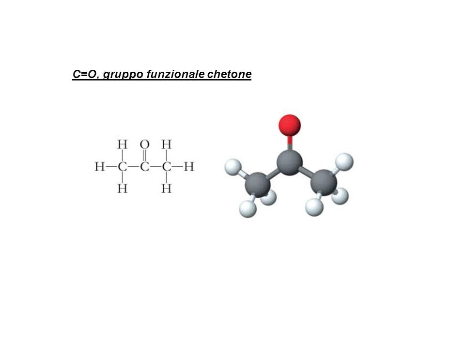 C=O, gruppo funzionale chetone