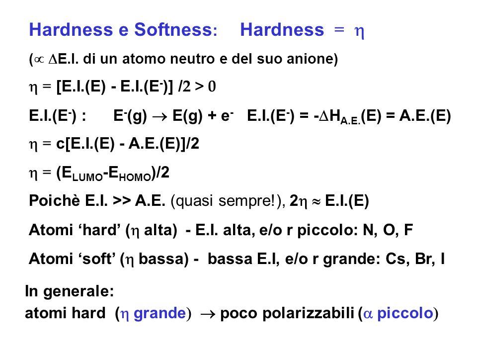 Hardness e Softness: Hardness = h
