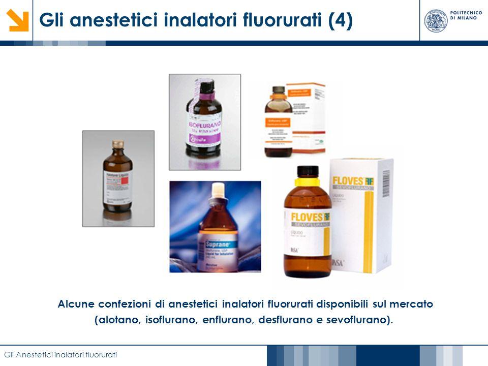 Gli anestetici inalatori fluorurati (4)