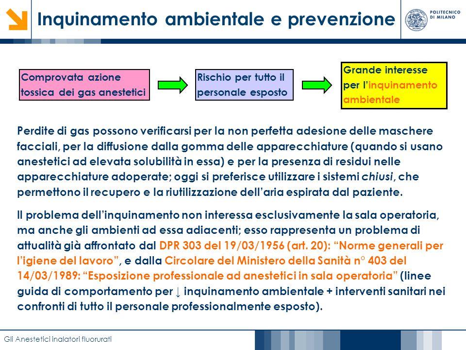 Inquinamento ambientale e prevenzione