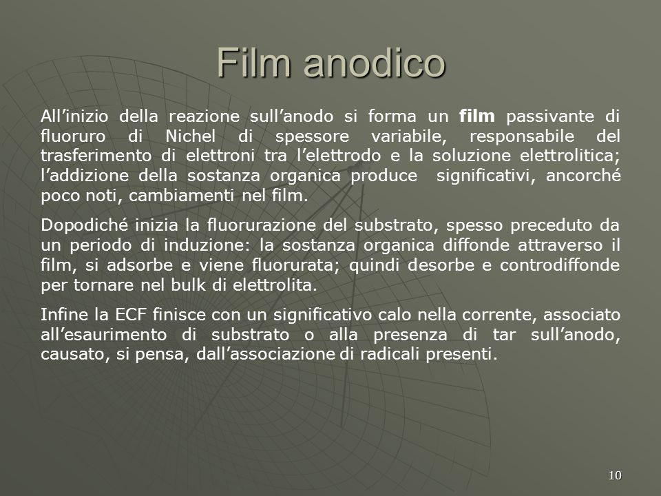 Film anodico