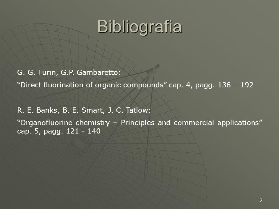 Bibliografia G. G. Furin, G.P. Gambaretto: