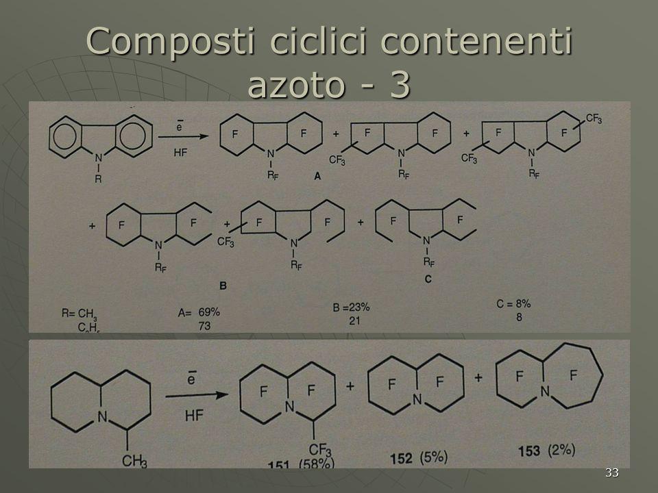 Composti ciclici contenenti azoto - 3