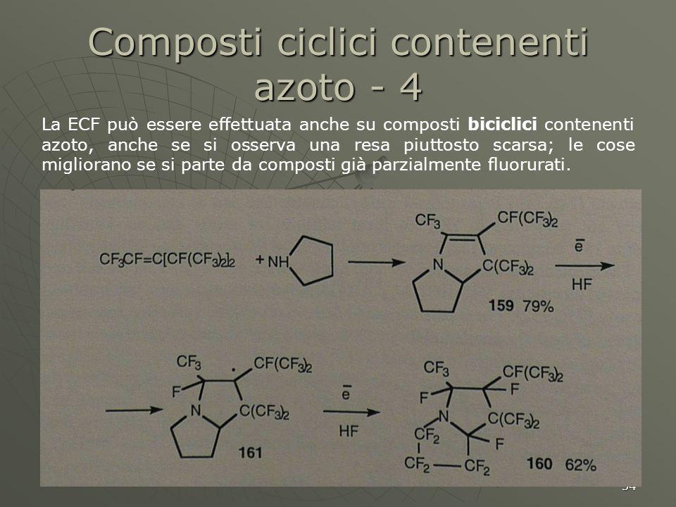 Composti ciclici contenenti azoto - 4