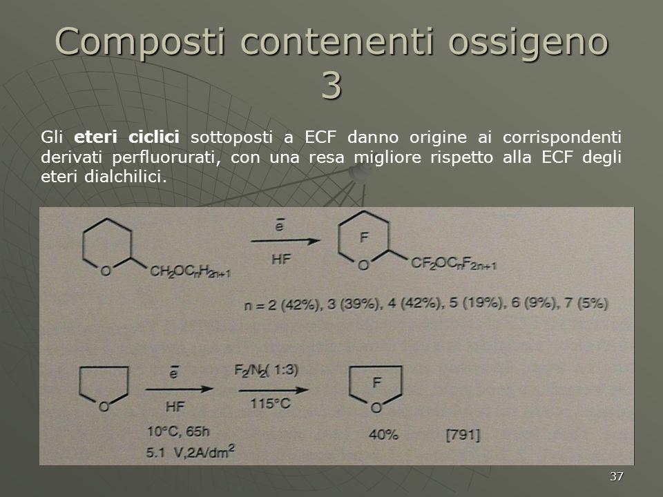 Composti contenenti ossigeno 3