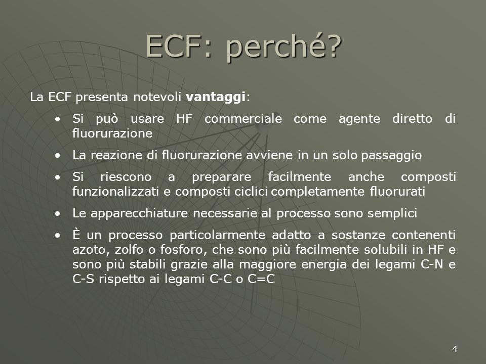 ECF: perché La ECF presenta notevoli vantaggi: