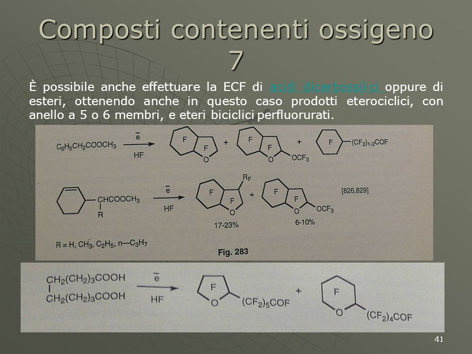 Composti contenenti ossigeno 7