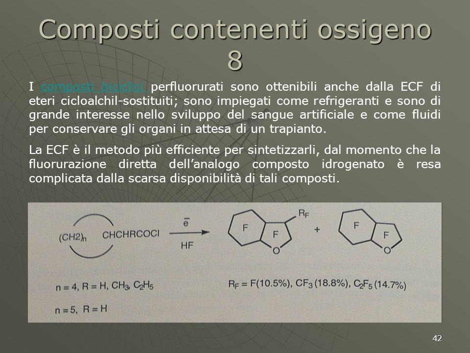 Composti contenenti ossigeno 8