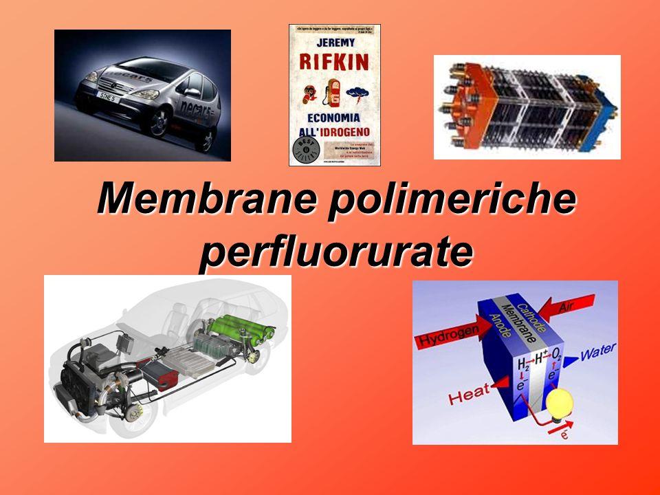 Membrane polimeriche perfluorurate