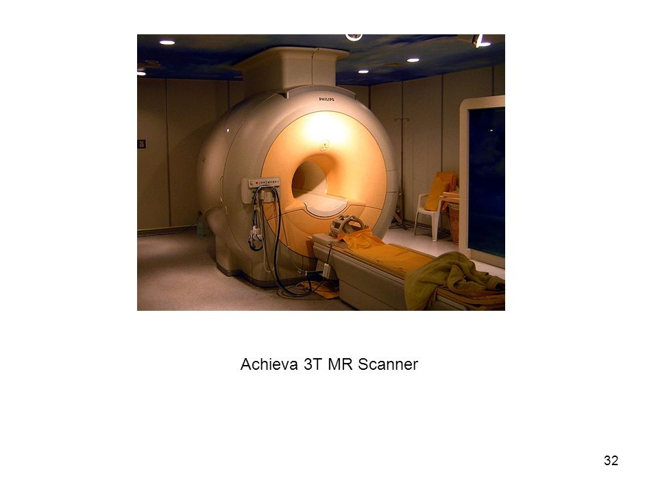 Achieva 3T MR Scanner