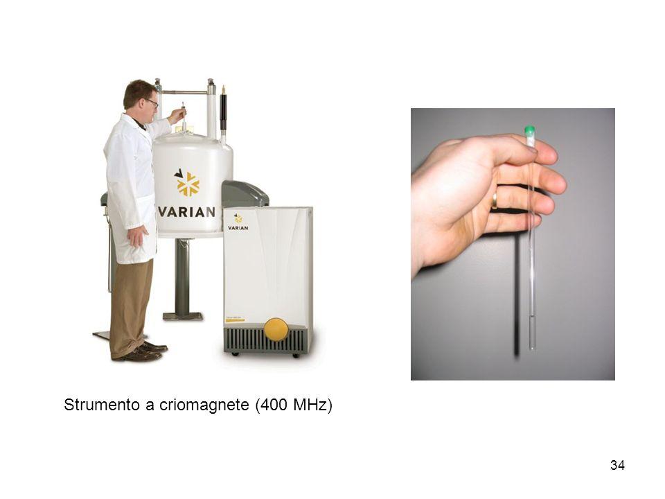 Strumento a criomagnete (400 MHz)