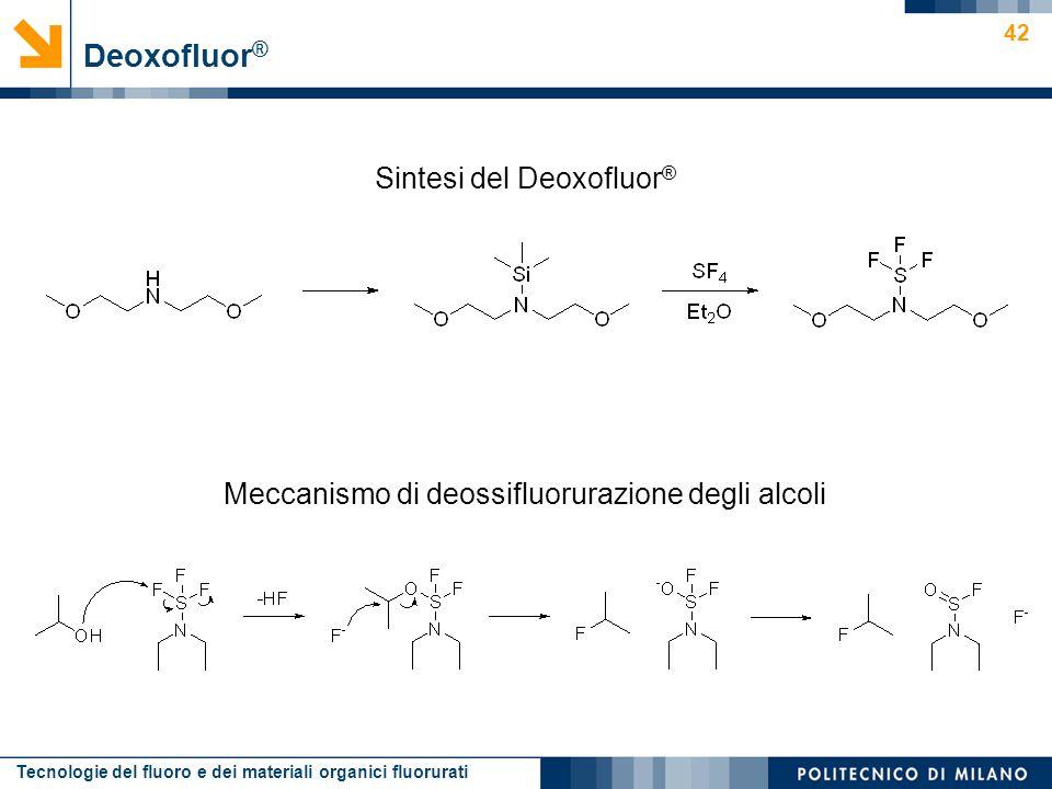 Sintesi del Deoxofluor®