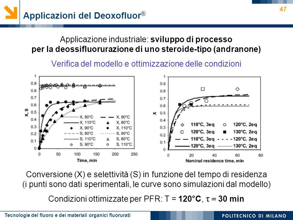 Applicazioni del Deoxofluor®