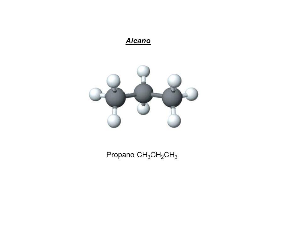 Alcano Propano CH3CH2CH3