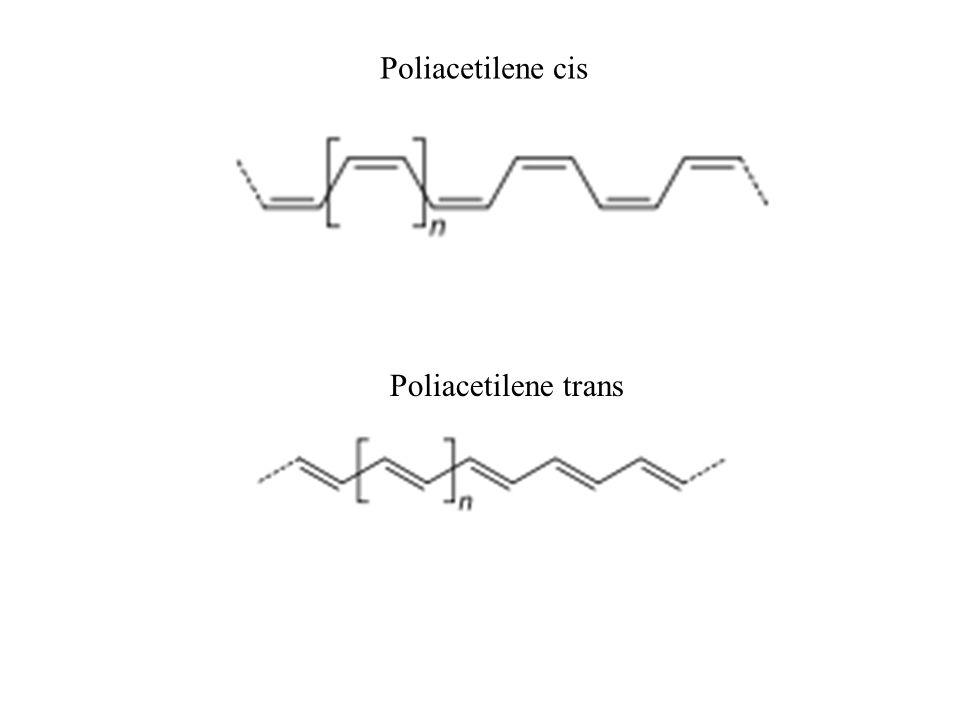 Poliacetilene cis Poliacetilene trans