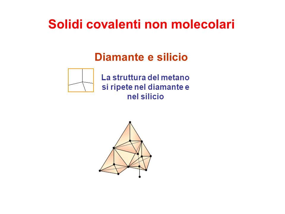 Solidi covalenti non molecolari