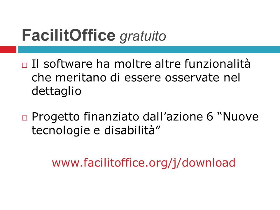 FacilitOffice gratuito