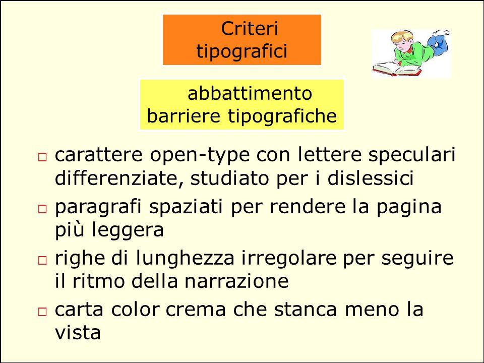 abbattimento barriere tipografiche