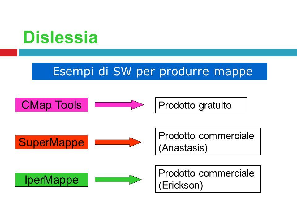 Esempi di SW per produrre mappe