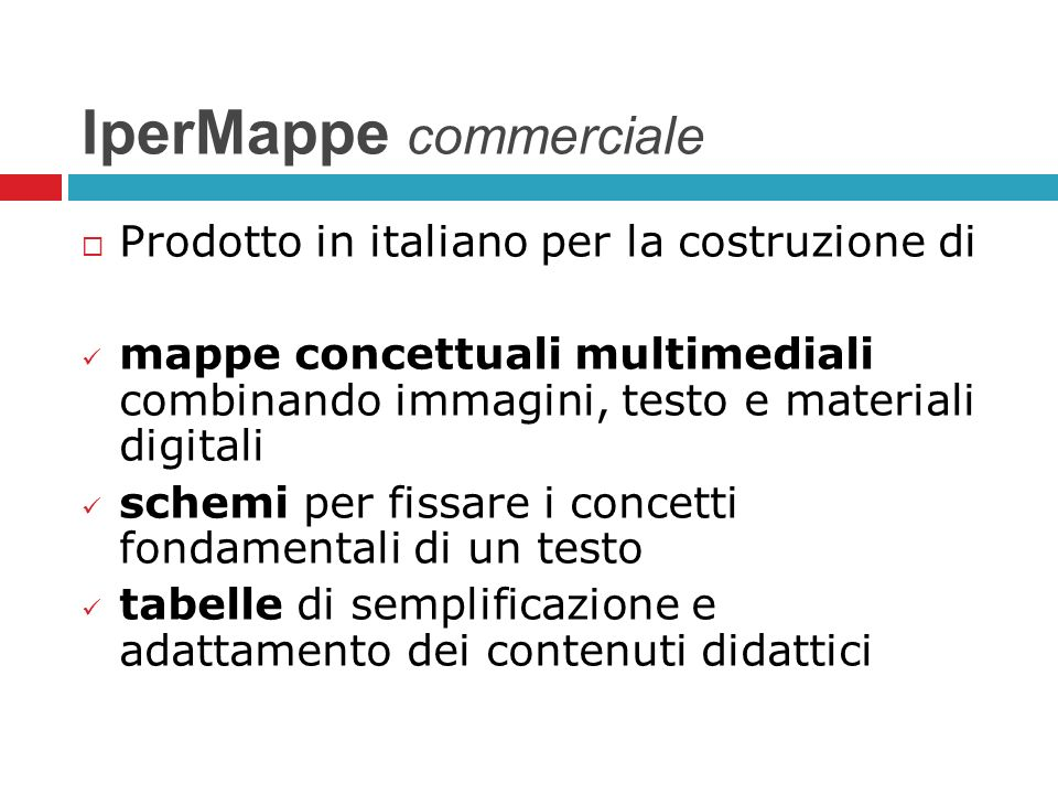 IperMappe commerciale