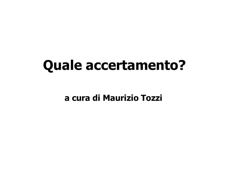 a cura di Maurizio Tozzi