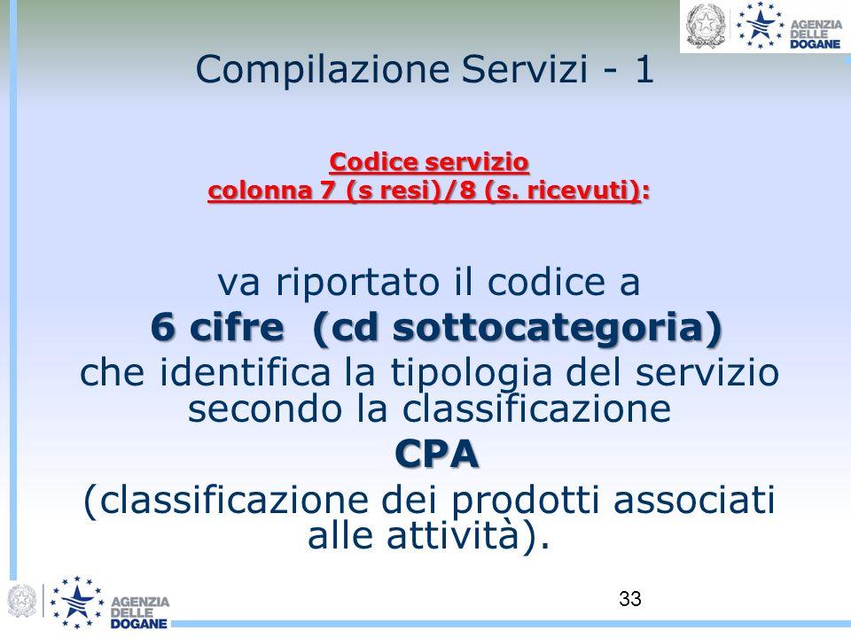 Compilazione Servizi - 1