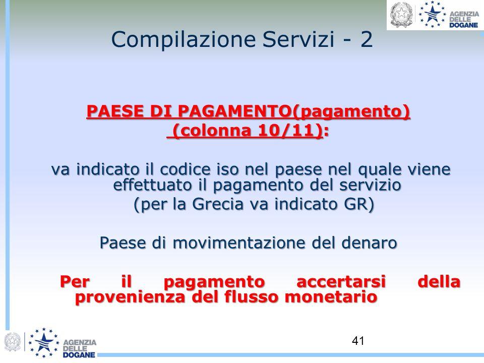 Compilazione Servizi - 2