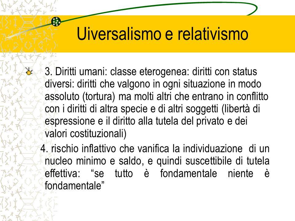 Uiversalismo e relativismo