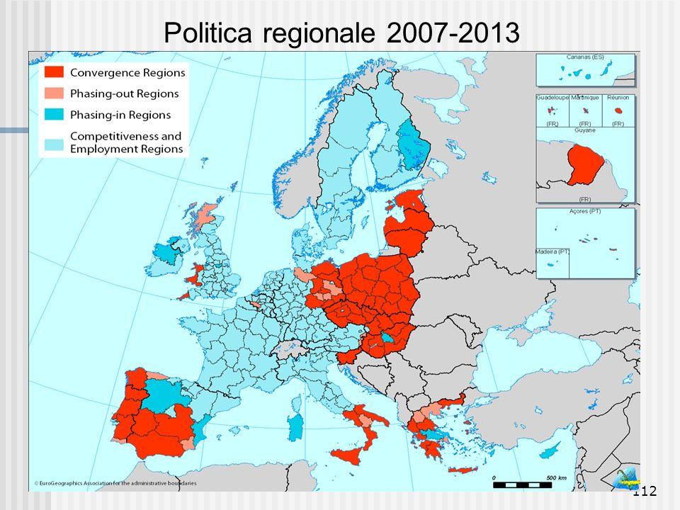 Politica regionale 2007-2013